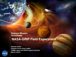 NASA-GRIP Field Experiment