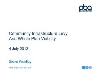 Community Infrastructure Levy  And Whole Plan Viability 4 July 2013