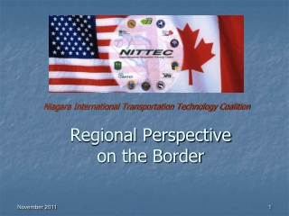 Regional Perspective  on the Border