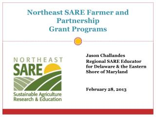 Northeast SARE Farmer and Partnership Grant Programs