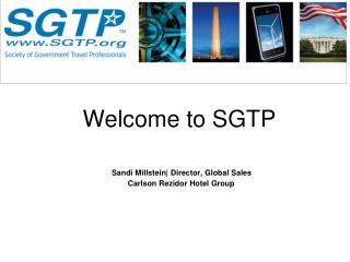 Sandi Millstein|Director, Global Sales                 Carlson Rezidor Hotel Group