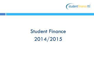 Student Finance  2014/2015