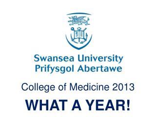 College of Medicine  2013