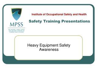 Safety Training Presentations