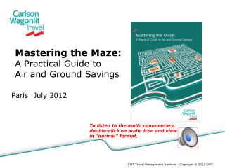 Mastering the Maze: A Practical Guide to Air and Ground Savings