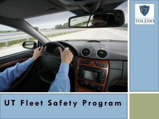 UT Fleet Safety Program