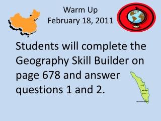 Warm Up February 18, 2011
