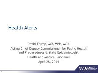 Health Alerts