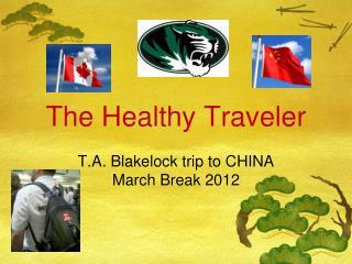 The Healthy Traveler