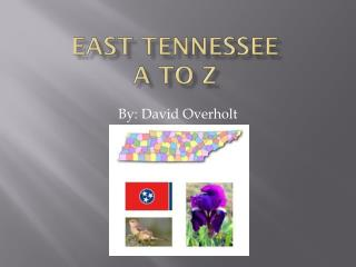 East Tennessee A to Z