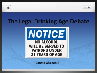 The Legal Drinking Age Debate