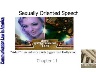 Sexually Oriented Speech