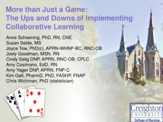More than Just a Game:   The  Ups and Downs of Implementing Collaborative Learning