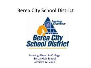 Berea City School District