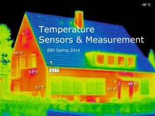 Temperature  Sensors & Measurement