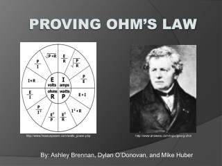 Proving Ohm's Law