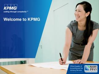Welcome to KPMG