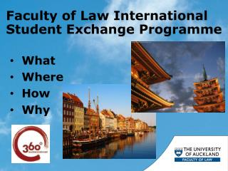 Faculty of Law International  Student Exchange Programme