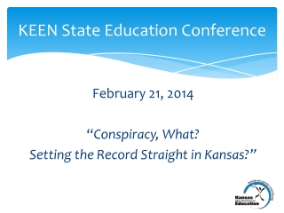 KEEN State Education Conference