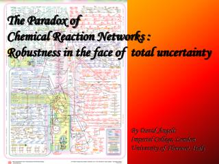 The Paradox of  Chemical Reaction Networks : Robustness in the face of  total uncertainty