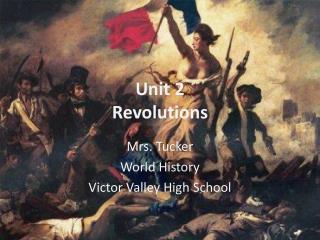 Unit 2 Revolutions