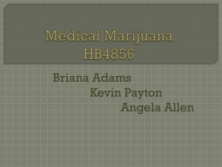 Medical Marijuana HB4856