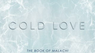 The Book of Malachi