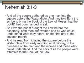 Nehemiah 8:1-3