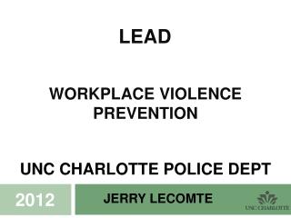 Jerry Lecomte