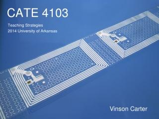 CATE 4103