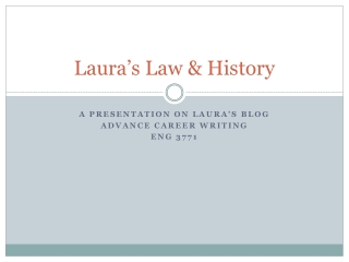 Laura's Law & History