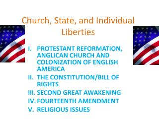 Church, State, and Individual Liberties