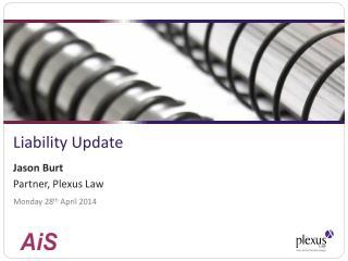 Liability Update