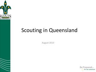 Scouting in Queensland