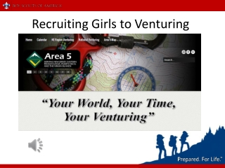 Recruiting Girls to Venturing