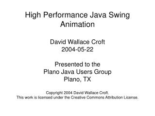 high performance java swing animation