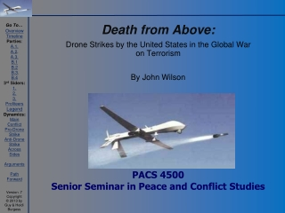 PACS 4500 Senior Seminar in Peace and Conflict Studies