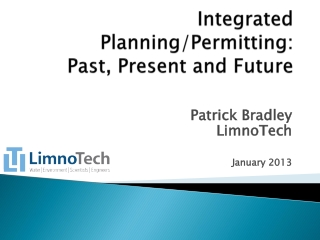 Integrated Planning/Permitting:  Past, Present and Future