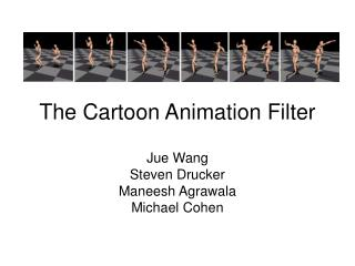 the cartoon animation filter