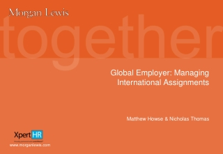 Global Employer: Managing International Assignments