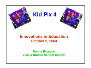 kid pix deluxe 4 features powerpoint file