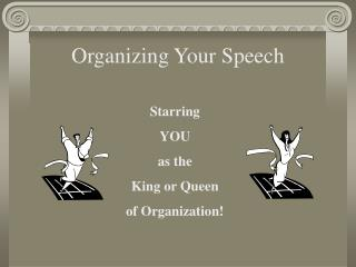 organizing your speech