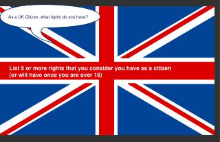 As a UK Citizen, what rights do you have?