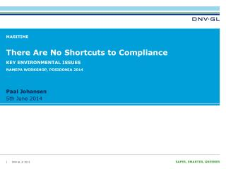 There Are No Shortcuts to Compliance
