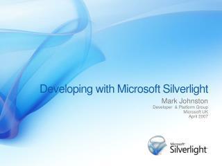 silverlight presentation