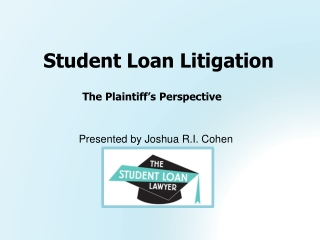 Student Loan Litigation