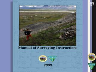 The  Manual of Surveying Instructions , the PLSS Datum, and the Local Surveyor
