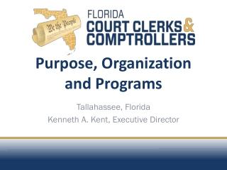 Purpose, Organization  and Programs