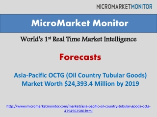 Asia-Pacific OCTG (Oil Country Tubular Goods) Market By 2019