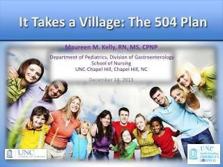 It Takes a Village : The 504 Plan
